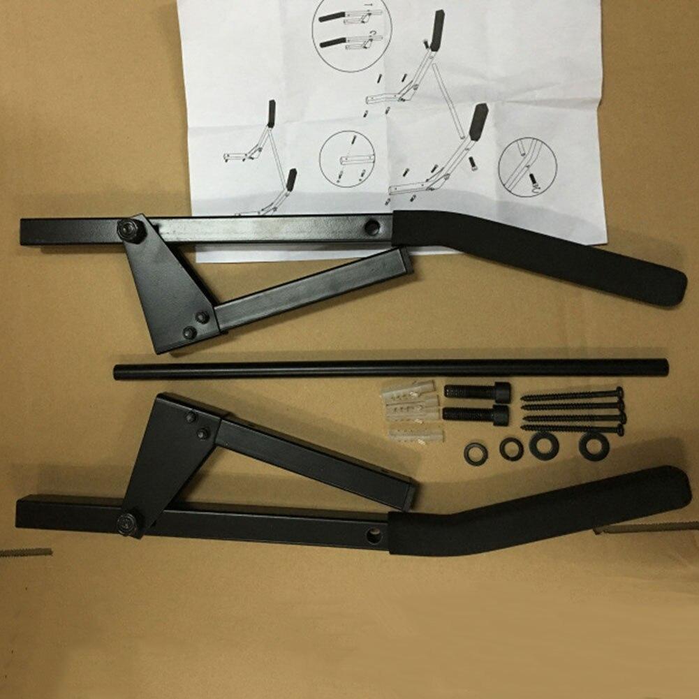 Support de montage mural pour vélo support de rangement pour VTT en alliage d'aluminium crochet de suspension accessoires de cyclisme ZJ55