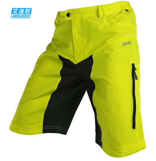 ARSUXEO Men s Downhill MTB Mountain Bike Shorts Breathable Outdoor Sports  Bicycle Cycling Clothing with 3D Padded-in Cycling Shorts from Sports ... 28177109f