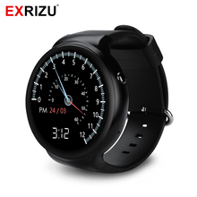 EXRIZU I4 Smart Watch Phone Android 5.1 1G RAM & 16G ROM Wristwatch MTK6580 1.39″ AMOLED 3G Bluetooth Wifi Smartwatch GPS SIM