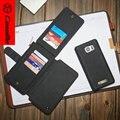 CaseMe для Samsung Galaxy Note5 Case Кожаный Бумажник для Samsung S6 S7 S6edge S7edge Новое Прибытие Для iPhone 6 6 s Крышка
