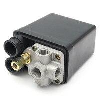 Air Compressor Pump Pressure 0 175 PSI Switch Control Valve 12 Bar 240V 4 Port High