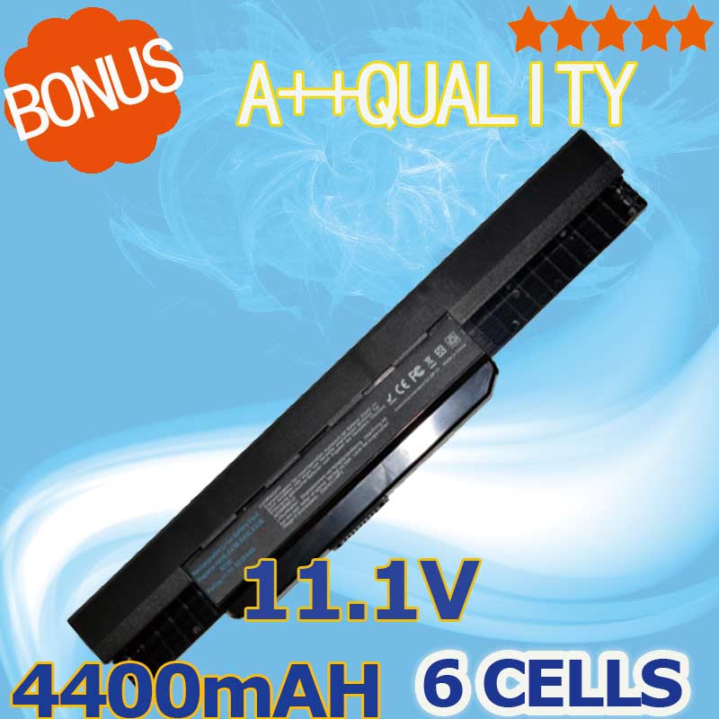 Bateri 11.1V Untuk Asus A32-K53 A42-K53 A31-K53 A43 A43SV A53SV K43SV - Aksesori komputer riba
