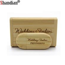 SHANDIAN wooden pendrive 4GB 8GB 16GB 32GB usb Flash Drive U disk Memory stick