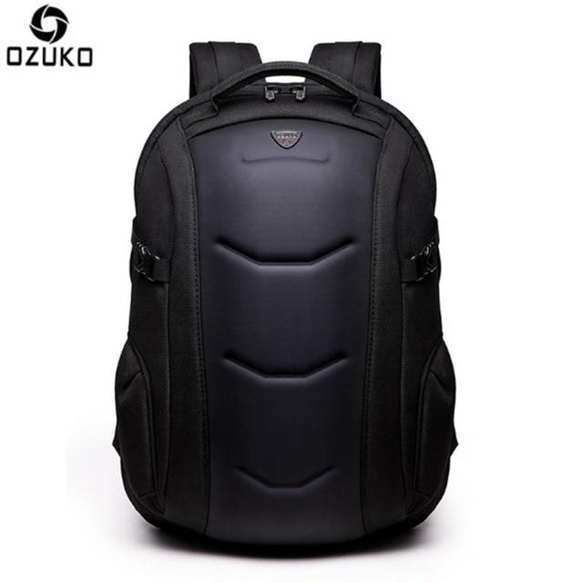 OZUKO 2017 New Arrival Men Backpack 15.6 inch Notebook Bags Oxford Waterproof Anti-Theft Teenagers Men Student Fallow School Bag