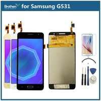 Para samsung galaxy grand prime g531 g531f SM-G531F g531h display lcd com ferramentas de tela toque digitador assembléia 5.0 phone lcd telefone lcd