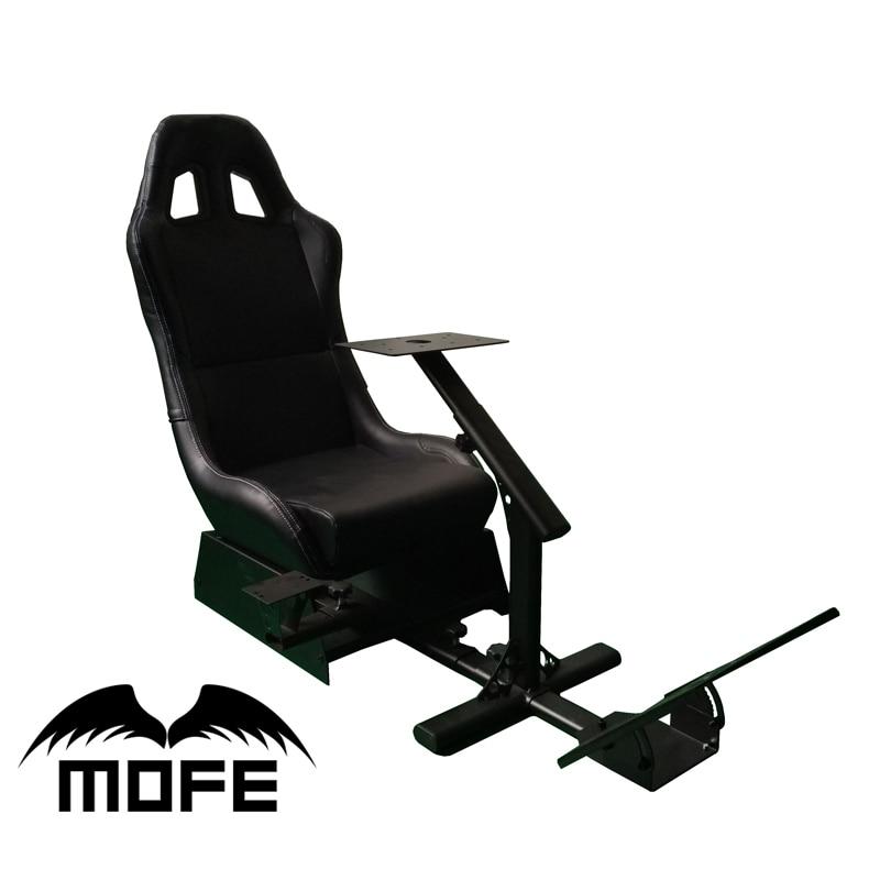 Поддержка рулевого колеса и педали Шестерни ручка переключения держатель играть игру гоночный кресло симулятор для logitech G25 G27 G29