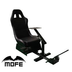 Dukungan dari Roda Kemudi dan Pedal Gear Shift Knob Pemegang Permainan Simulator Balap Kursi untuk Logitech G25 G27 G29