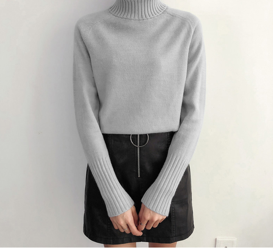 Surmiitro Sweater Female 19 Autumn Winter Cashmere Knitted Women Sweater And Pullover Female Tricot Jersey Jumper Pull Femme 21