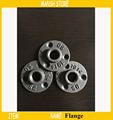 "10pcs DN15 Iron Flange Seat Classic Casting Iron Flange For 1/2"" Pipe Free Shipping"