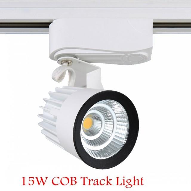 1X NEW 15 W COB Led faixa de iluminação casa sala Shopping Jewerlry para lojas de marca CE e ROHS lâmpada moderna