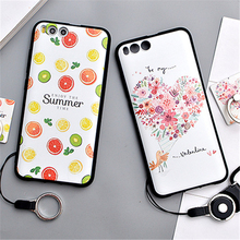 Xiaomi Mi6 Case Cute 3D Relief Painting Silicone Soft Case Back Cover For Xiaomi mi6 Fundas Cartoon Xiaomi mi 6 Case Cover
