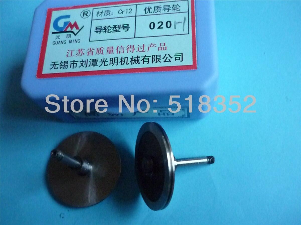 Polia de Alta Velocidade do Fio Guangming Guia Cr12 High Precision Roda Cut Edm 020 h Od36mmx L31mm