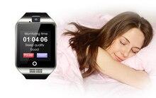 Surmos Smart Uhr Q18 mit Schrittzähler GSM kamera TF karte und SIM einbauschlitz Bluetooth smartwatch für Android und IOS telefon
