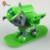 ATOY 8 unids/lote Esquís Anime Figura de Acción Juguetes Del Perro Del Perro de la Patrulla españa Kid Toy Cachorro Patrulla Patrulla Canina Juguetes Para Niño regalo