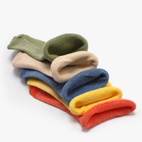 1 6 Years Pure Color High Quality Kids Cotton Socks Children Baby Girl Boy Baby Sports