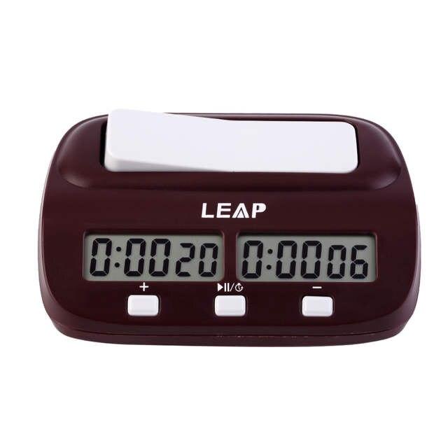3d0f7b4e0d6 placeholder SALTO Digital de Contagem Up Down Temporizador Relógio de Xadrez  Jogo De Tabuleiro Eletrônico Set Jogador