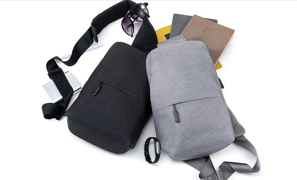 ... XIAOMI MI Backpack Urban Leisure Chest Pack Bag For Men Women Small  Size Shoulder Type Unisex ... ff78e970be11f