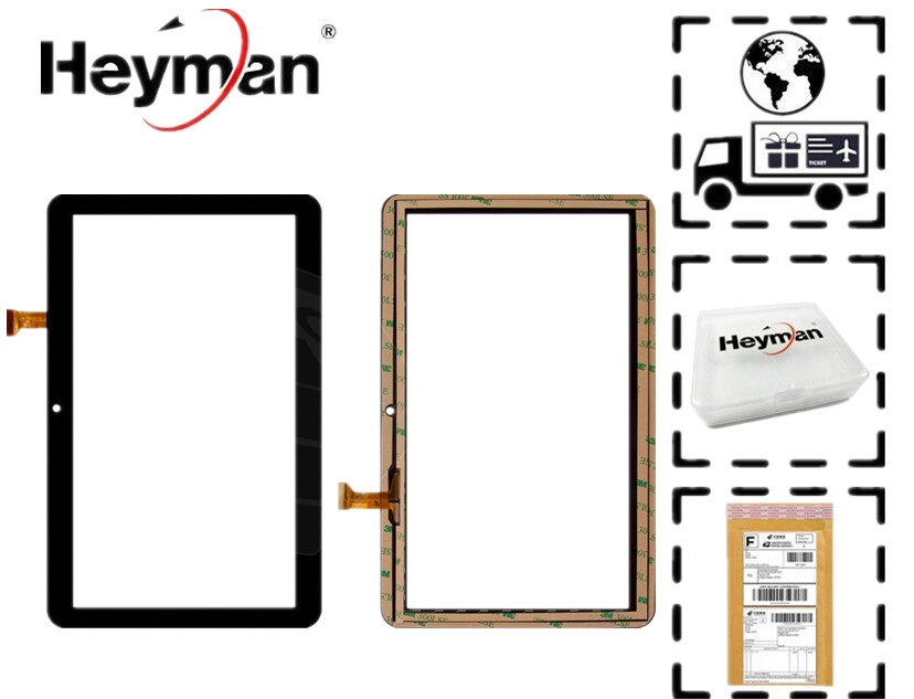 10.1''Touchscreen Digitizer for Nomi C10102 Terra+ Tablet FX-C10.1-192/GT10PGX10 Glass Panel Front Glass Lens Sensor