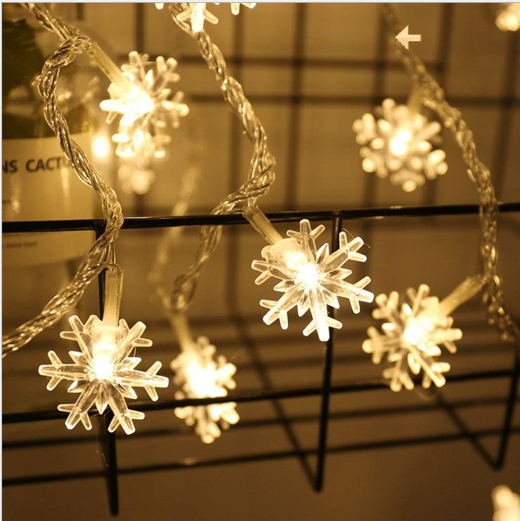 Warm white Snow LED