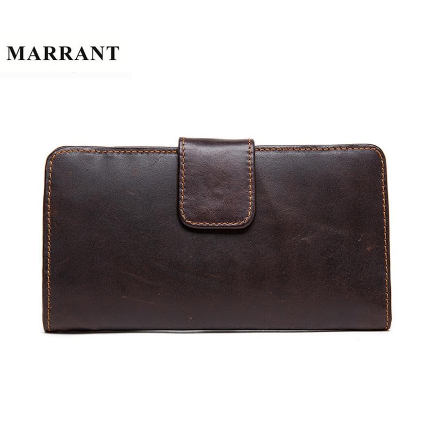 MARRANT Genuine Leather font b Men b font font b Wallets b font Fashion Clutch Bags
