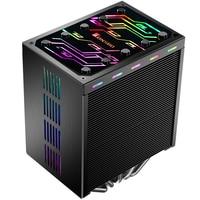Jonsbo CR 401 CPU Cooler 5 heat pipe side blowing pure copper CPU radiator 12CM light effect
