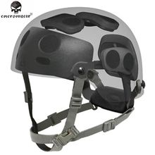 Emersongear FAST MICH helmet Accessory EMERSON Dial Liner Kit Complete Set EM5671A Dark Earth And Black