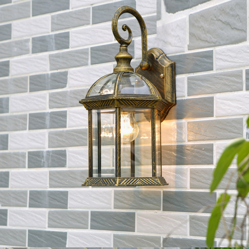 Outdoor Wall Lamp Balcony Wall Waterproof Wall Lights Garden Exterior Waterproof Wall led Outdoor ligths Retro led Pourch Lights цена 2017