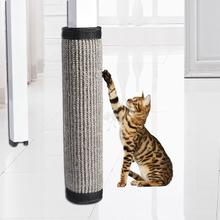 40*30cm Cat Scratch Board Sisal Furniture Bed Mattress Protector Table Chair Sofa Legs Mat Cat Kitten Scratching Toy Scratcher 4pcs cat non slip sock cat scratching toys furniture chair table leg protector
