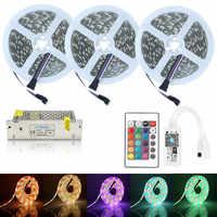 5 M 10 M 15 M WiFi RGBW taśmy LED 12 V 300 diody LED elastyczne LED Taśma oświetleniowa SMD 5050 RGB + ciepły biała lampa + sterownik WiFi do LED + zasilania 12 V