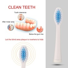 2pcs Electric Replaceable Toothbrush Heads Sonic Seago Tooth Brush Head for SG-881 For Oral B Electric Tooth Brush Hygiene Care oral b electric toothbrush rotating vitality d12013 rechargeable teeth brush oral hygiene sonic tooth brush teeth brush heads