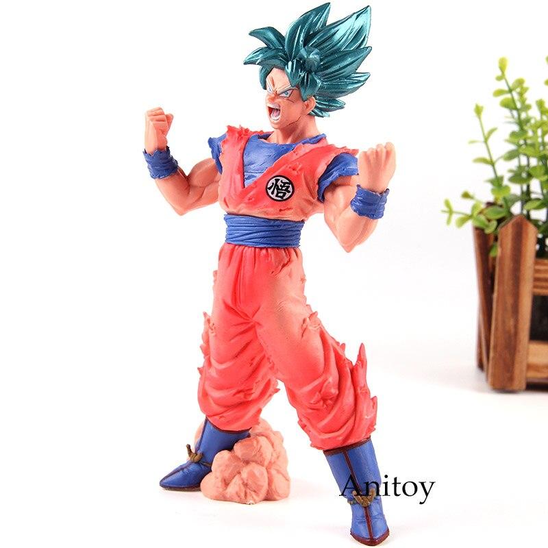 Anime Dragon Ball Z Blood of Super Saiyan God Son Goku DBZ PVC Action Figure Toy