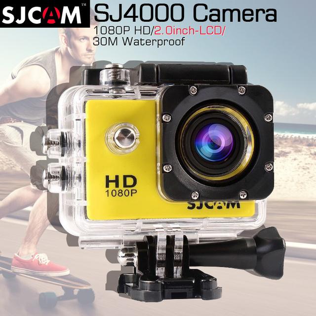 Original SJCAM SJ4000 2.0 Action Camera Diving 30 M Câmera À Prova D' Água 1080 P Full HD Câmera Esporte 170 Graus SJ 4000 SJCAM Original