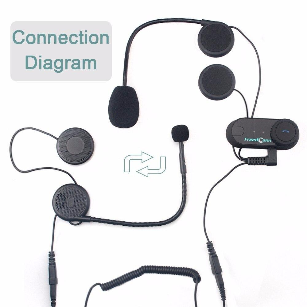 1set Good News To Intercom Talking Pillon Passenger Motorcycle Bluetooth Intercom Helmet Headset Brand TCOM 1set) good news!!! to intercom talking pillon passenger motorcycle
