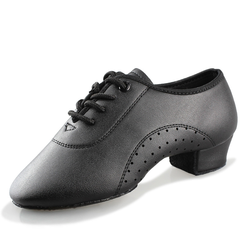 Image 4 - Professional Black Latin Shoes Boys Latin Dance-in Latin from Novelty & Special Use