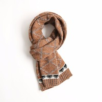 NEW 2017 Autumn Winter Men Women Plaid Cashmere Scarves Scarf Wool Knitted Scarves Shawls Fashion Warm Women Scarves MC120