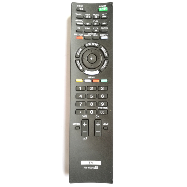New LCD TV Remote Control For SONY RM YD059 for KDL32EX720 KDL32EX729 KDL40EX720 KDL40EX723 KDL40EX729 TV Fernbedienung