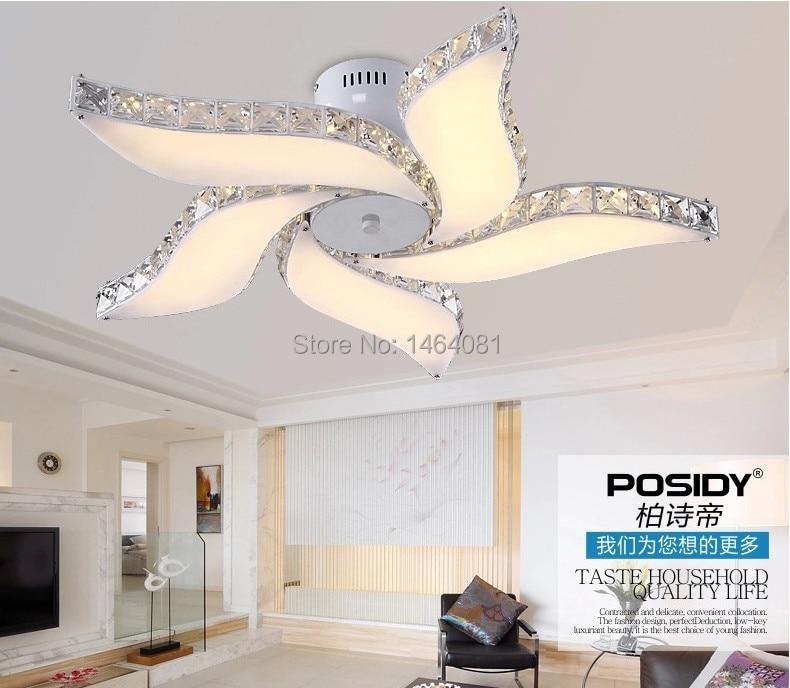 2014 Led Ceiling Fan Crystal Chandelier Modern Designcrystal For Bedroom Living Room Home Lights In From