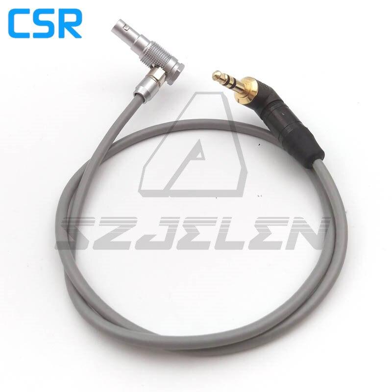 connector FHG.00.305 5 pin plug to NEUTRIK 3.5 audio plugs   FOR ARRI ALEXA mini camera audio cable,  60CM lemo connector 8 pin plug fhj 2b 308 clld z camera alexa mini 8 pin connector plug