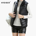 Plus Size Women Sleeveless Jacket Winter 2015 Korean Cotton Regular Paragraph Slim Coat  Z9