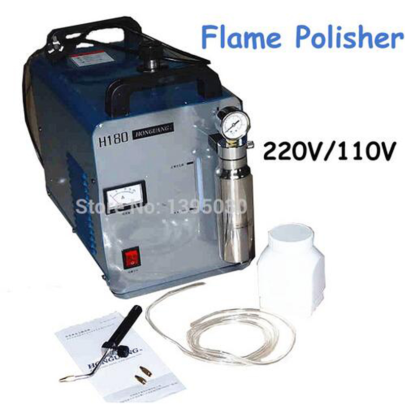 Acrylic Flame Polisher Machine 600W Electric Oxygen Hydrogen Polishing Grinding Machine HHO Generator 95L/H H180