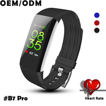 B7Pro color screen smart bracelet watch continuous heart rate call rejection waterproof step counter sports bracelet