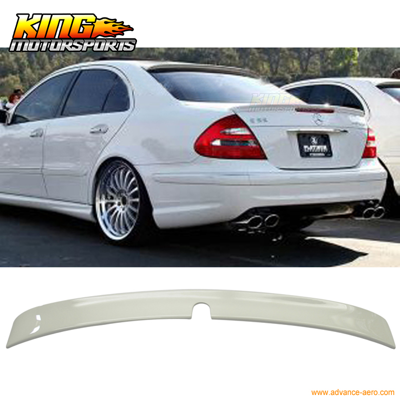 Mercedes Benz W219 CLS-Class L Type Window Rear Lip Roof Spoiler Painted 775