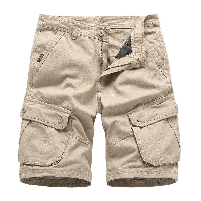 Uomo Cargo Shorts Pantaloni Bermuda Sweat Pant Camouflage Pantaloni Jogging Sport Corto