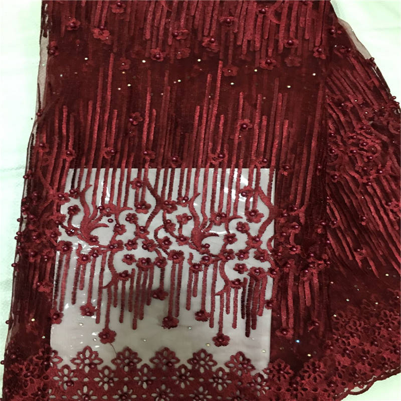 MP!african lace fabric 2019 high quality lace french mesh fabric beaded stones nigerian swiss lace fabrics for dress ! L42585MP!african lace fabric 2019 high quality lace french mesh fabric beaded stones nigerian swiss lace fabrics for dress ! L42585