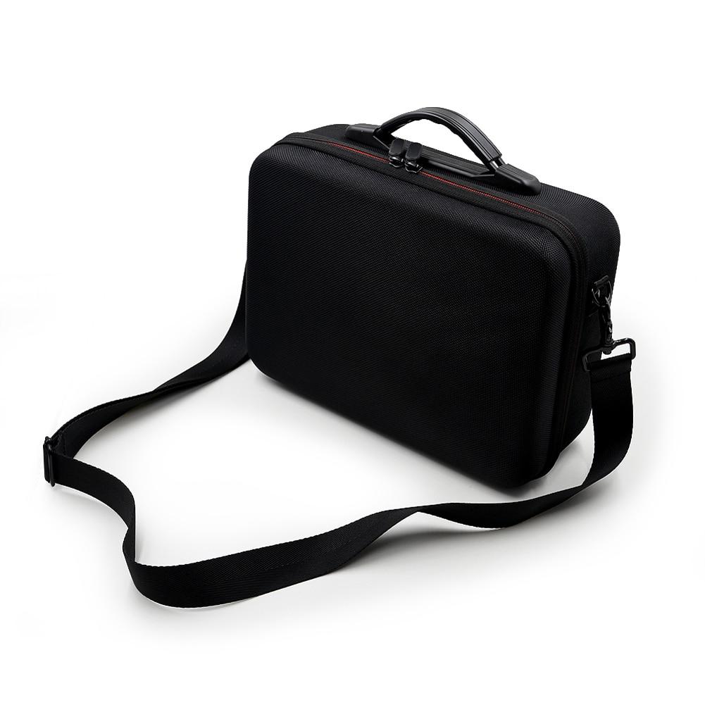 Black Single-shoulder PU Storage Bag Waterproof Handbag Suitcase For DJI Mavic Air(China)
