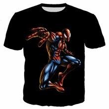 PLstar Cosmos Spider man venom Print 3D T-shirts Kids summer style Boys t  Shirt  Skull Print tees children Casual Loose T Shirt свитшот print bar venom