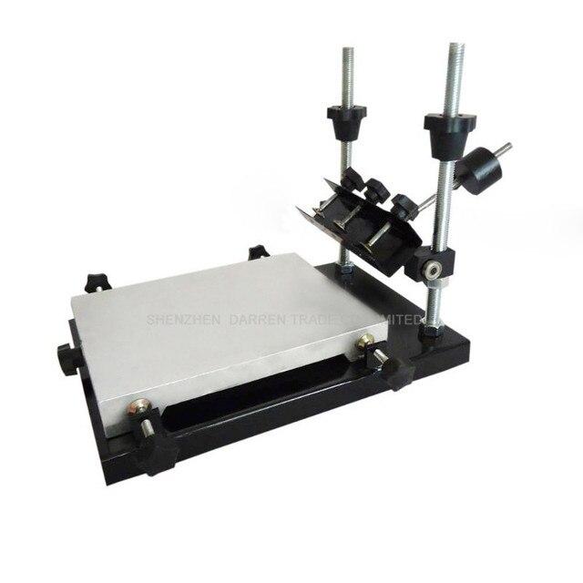 1pcs single color screen printer T-shirt screen printing machine flat printing press printing area 320*440MM