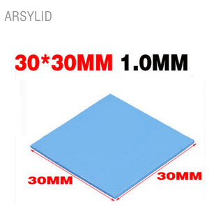 ARSYLID High quality 30*30*1.0mm Thermal conductivity 3.6W GPU CPU Heatsink Cooling Conductive Silicone Pad Thermal Pad