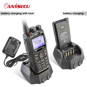 Image 4 - Anysecu DMR Walkie Talkie DM 960 TDMA Ham Radio DM960 VHF UHF With GPS Dual Slot Times Compatible with MOTOTRBO with USB Cable