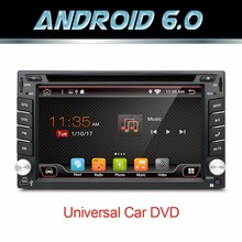 Quad Core autoradio 2 din android 6.0 radio gps navigation car dvd player 2din steering wheel Rear View Camera WIFI TV (Option)